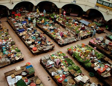 Pasar Besar Siti Khadijah Market in Kota Bharu