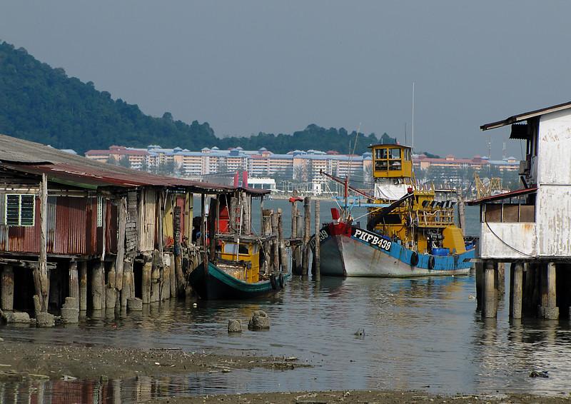 Fishing Boats in Pangkor Island