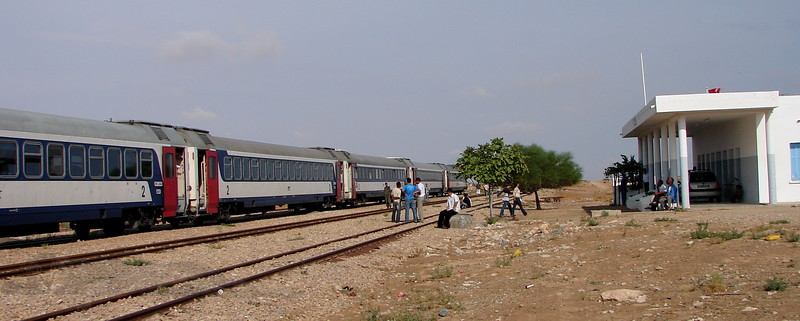 Broken Down Train - Tunisia