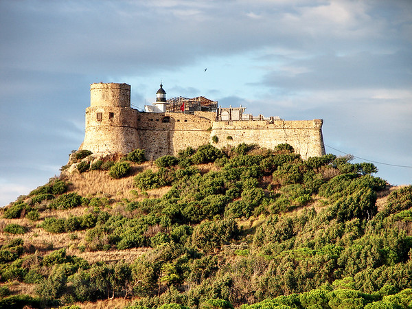 Tabarka Castle in Tunisia