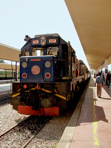 Locomotive in Tunisia