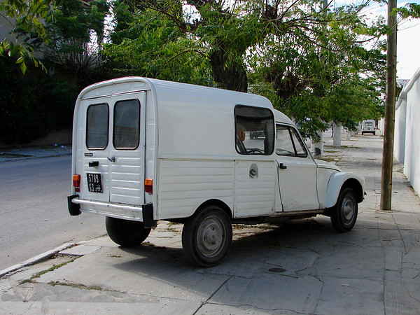 Van in Tunisia