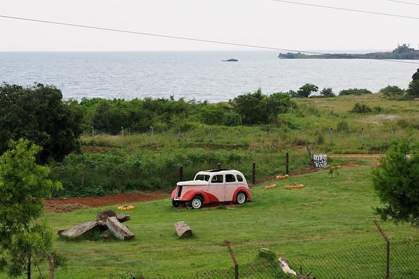 Old Motor Car - UWEC