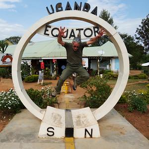 Jumping the Equator - Uganda