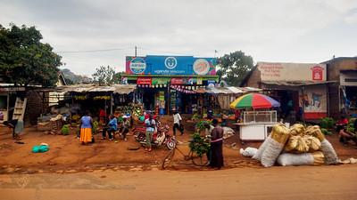 View From a Minibus Window - Kampala
