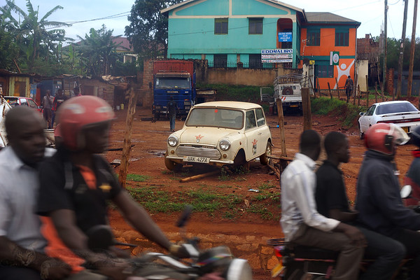 View From a Minibus Window - Uganda