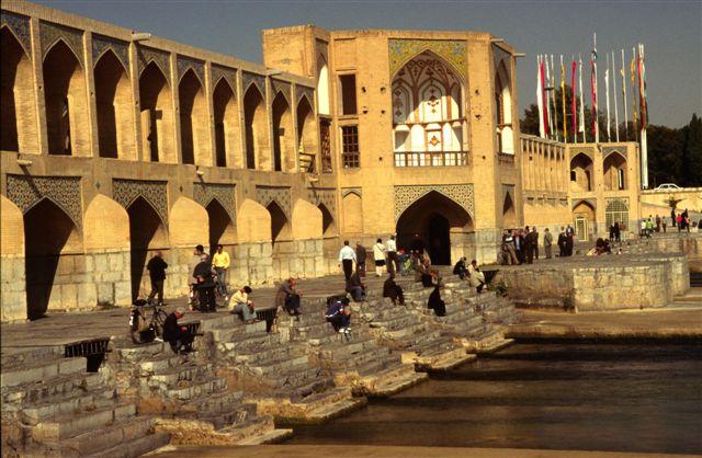 Khaju Bridge in Esfahan