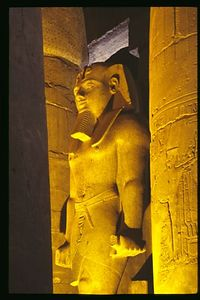 The Guardian, Luxor Temple