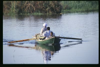 Nile Fishermen, The Nile River