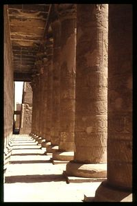 Edfu Temple interior