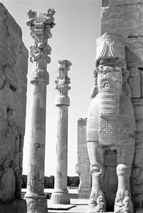 Xerxes Gate (b&w)