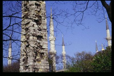 Obelisk and Minarets