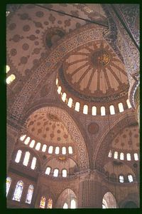 Sultan Ahmet (Blue) Mosque Interior