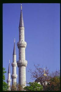 Pointing Toward Heaven, Sultan Ahmet (Blue) Mosque