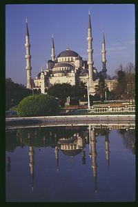 Sultan Ahmet (Blue) Mosque Reflections