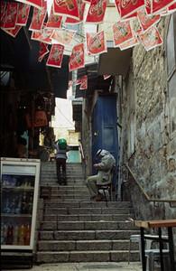 "Jerusalem ""street"" in the Arab Quarter"