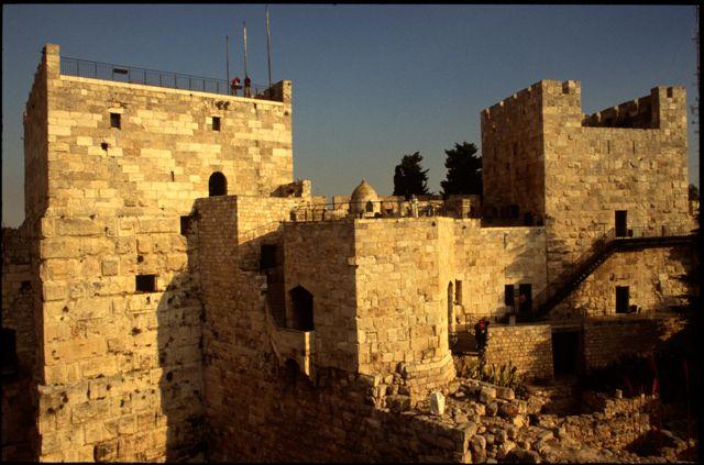 Jerusalem's Citadel interior