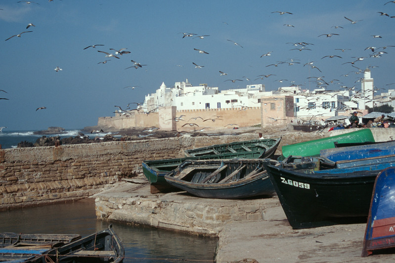 Essouira on the Mediterranean coast