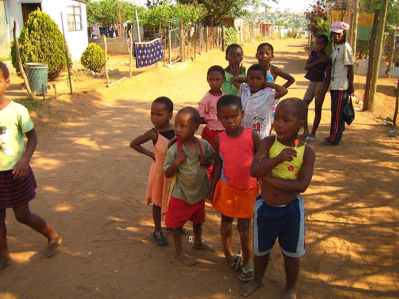 Children of Soweto, Johannesburg