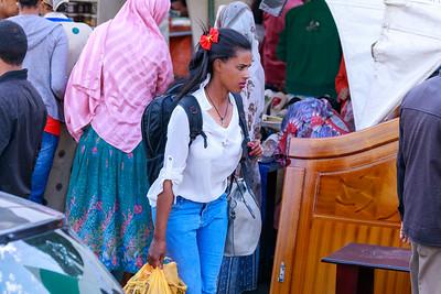 Weihnachtseinkauf in Addis Abeba