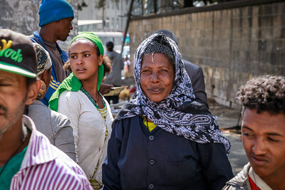 Frauen in Addis Abeba