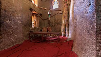 Felsenkirche Bet Medhane Alem in Lalibela