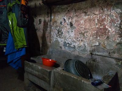 die erste Nasszelle in Addis Abeba