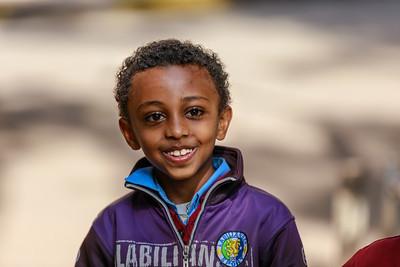 Noch ein Junge in Addis Abeba