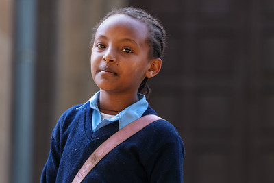 Mädchen in Addis Abeba