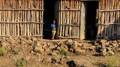 Junge in Ādeza, Amhara
