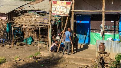 Morgens in Ādeza, Amhara