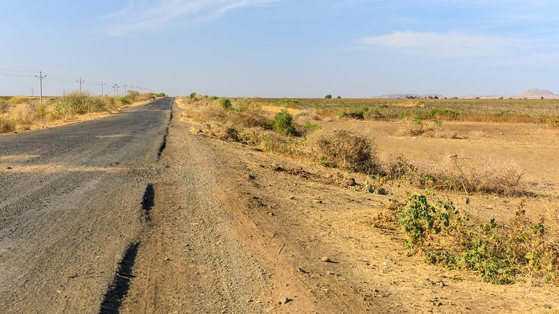 Gonder (Äthiopien) bis Doka (Sudan)