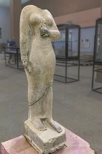 Statue der Königin Amanimalil (ca. 620 v.Chr.) - Sudan National Museum