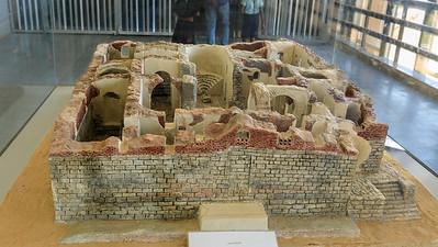 Modell der Kathedrale von Faras - Sudan National Museum