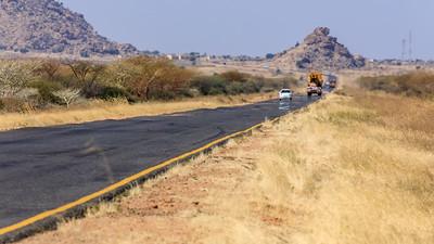 Auf der Straße nach Khartum