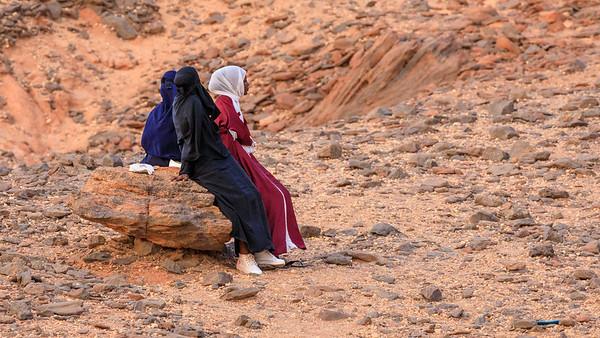 Die Mädchen durften nicht hinauf auf den Jebel Barkal