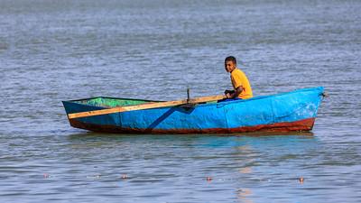Bootsverkehr auf dem Nil, Karima, Sudan