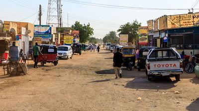 Einkaufsstraße, Karima, Sudan