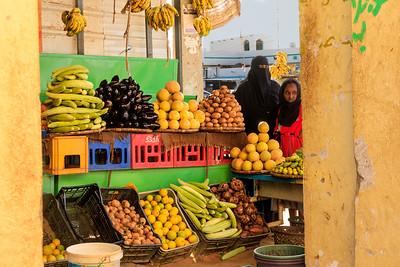 Obsttand, Karima, Sudan