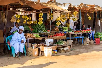 Obst und Gemüse, Straßenszenen, Karima, Sudan