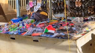 Schuhverkauf, Karima, Sudan