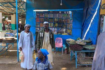 Auf dem Markt in Kerma, Sudan