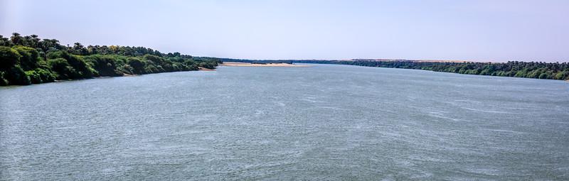 Nil bei Merowe/Karima