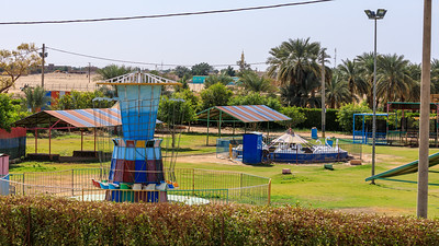 The land of civilizations Park (Trabil) bei Merowe am Nil