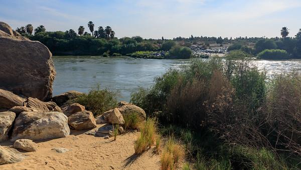 Ufer des Nils am 3. Katarakt, Tumbus, Sudan