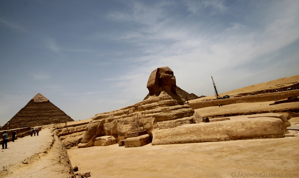 The Great Sphinx & the Pyramids of Giza