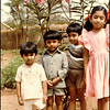 Flashback photo: My sister, Lavanya, and close childhood friends of Deepak and Kiran in the garden of that first house. We look so 1980s. I wonder why Deepak's stepping on my foot? A nice coincidence is that Deepak and I share the same birthday, but he's a year older. There were always two birthday parties that day. Both their parents were doctors at the same hospital that my mother was at and I remember the immunization policies that all the families adhered to. Namely that if any kid got a childhood disease, such as measles, mumps or chicken pox, there was a sleepover at the infected kid's house so that all the kids got the disease, got over it together and built a strong immune system when it doesn't hurt the body much. Some people in the West might think it's crazy to voluntarily subject your kid to a disease but it's much smarter to get those diseases as a child rather than as an adult when it's much more serious. Interestingly, besides me, everyone else in that photo is now a doctor.