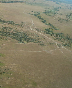 Approaching Mara - tracks below