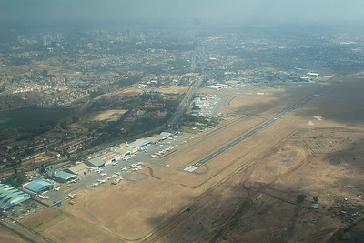 View of Wilson airport from the sky