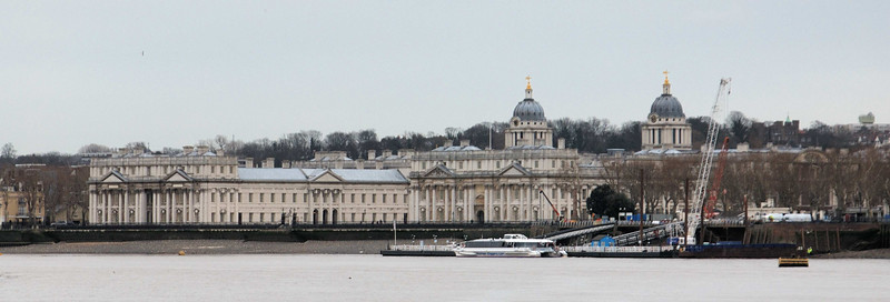 The Royal Naval College, Greenwich,  was formerly a Royal Navy training establishment between 1873 and 1998, in the centre of the Maritime Greenwich World Heritage Site in London.  The buildings were originally constructed to serve as the Greenwich Hospital, designed by Christopher Wren, and built between 1696 and 1712.